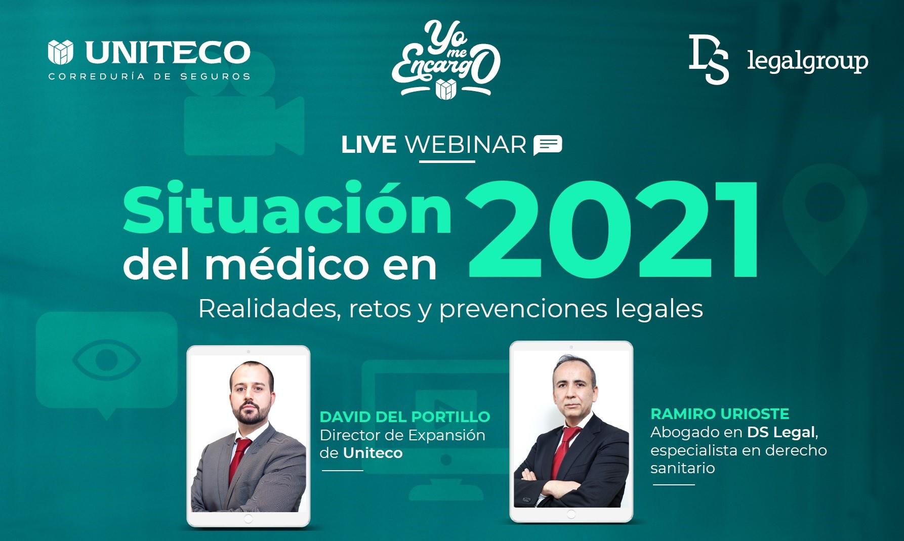 Realidades, retos y prevenciones legales de la profesión médica en 2021