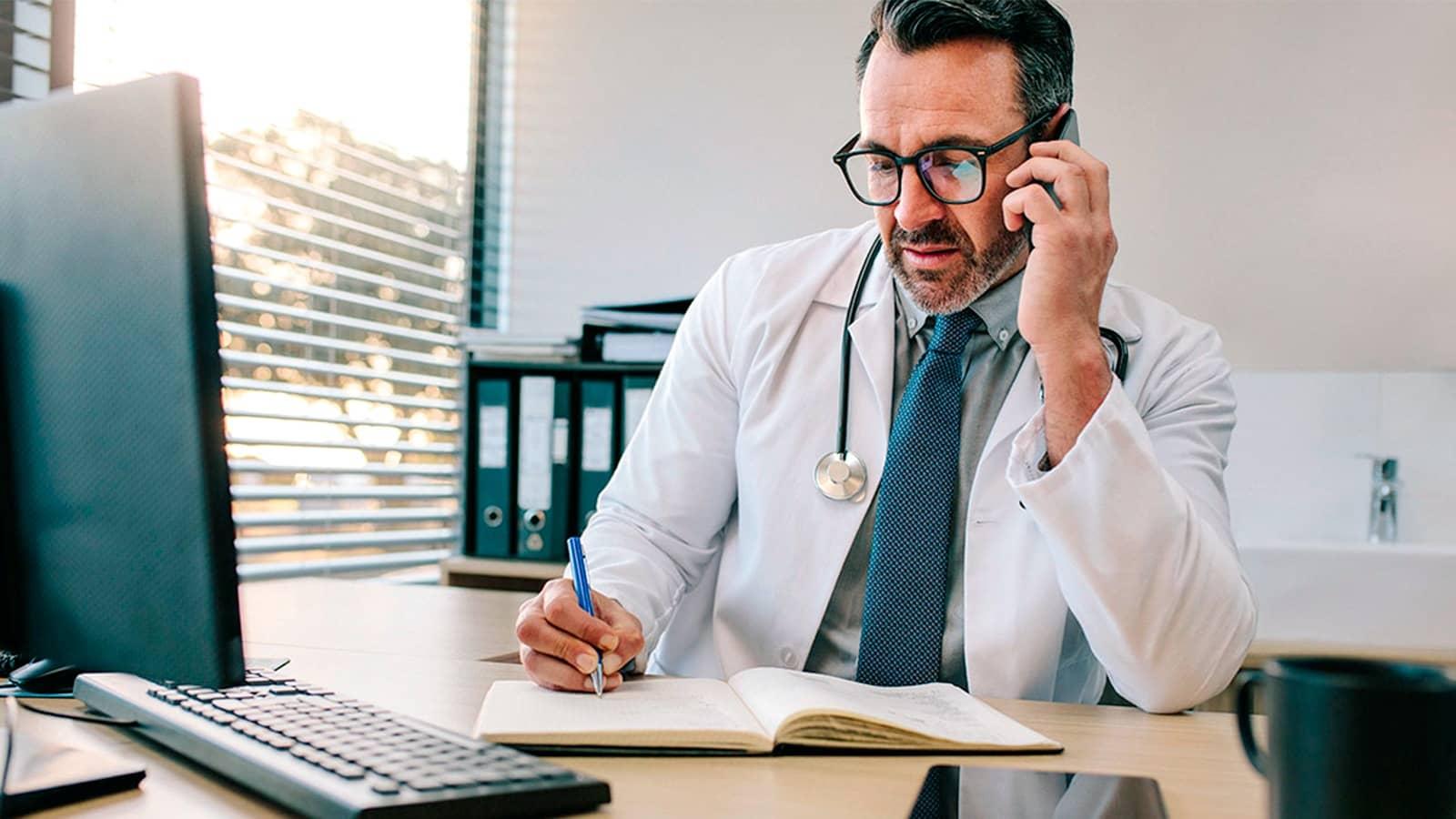 La consulta médica telefónica, una nueva realidad