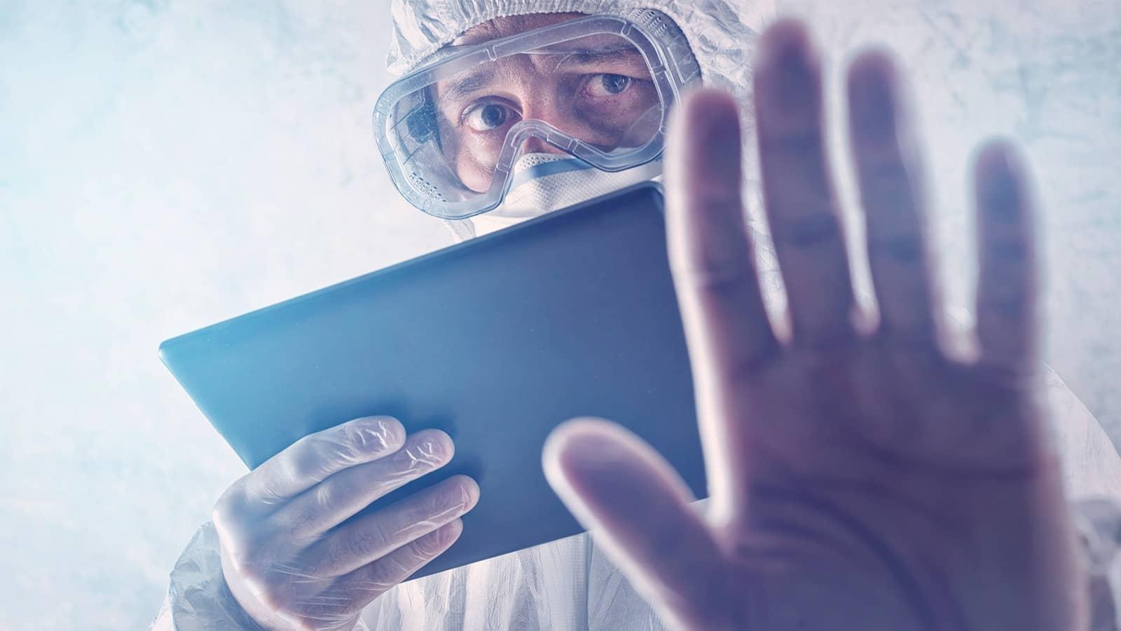 Sanitarios contagiados, los estragos de la pandemia