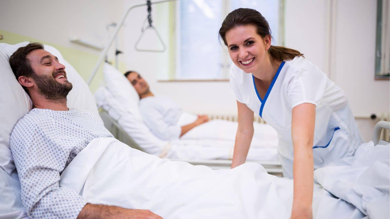 La importancia de los auxiliares de enfermería