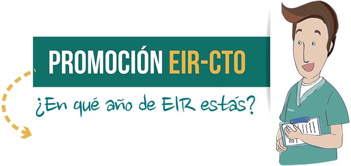 Promoción EIR-CTO - ¿En qué año de EIR estás?