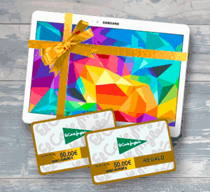 Tablet Samsung de regalo - Bases legales del sorteo